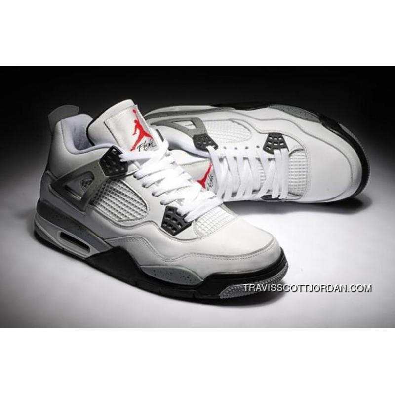 official photos aa8ca 3a258 Latest New Release Air Jordan Iv 4 Mens Shoes White