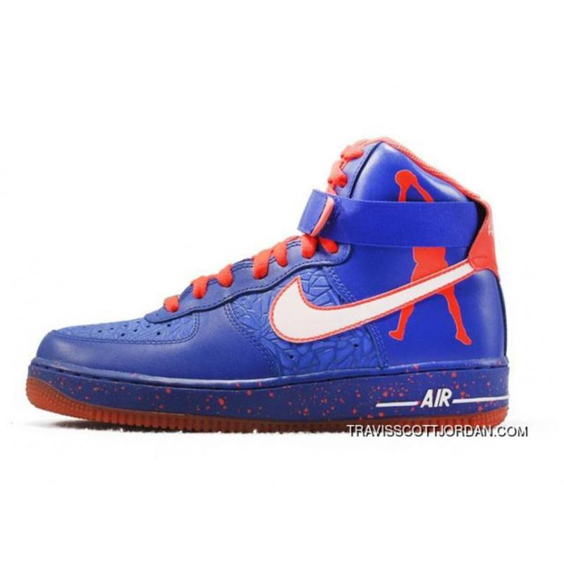 da0e358d27cc4f New Release Nike Air Force 1 Hi Cmft Prm Rasheed Wallace Blue Red Limit  Shoes For ...