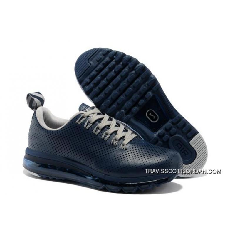 Release Nike Air Max 2013 Punching Mens Shoes Dark Blue New Year Deals