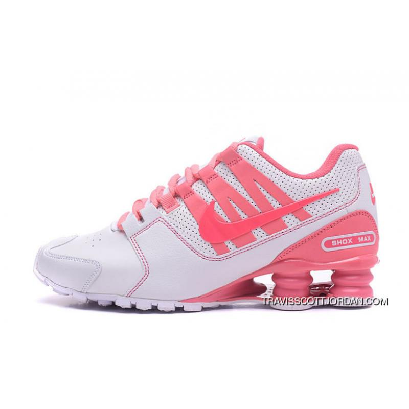 40e193cc0af8 ... 2017 Latest Nike Air Shox Avenue 803 Womens Basketball Shoes White Pink  For New Release ...
