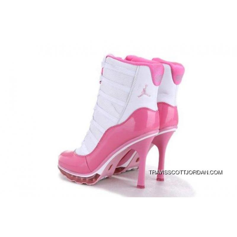 c842619b5a5e ... Top Deals Online Hot Sell Nike Air Jordan 11 Xi Womens Heels White Pink