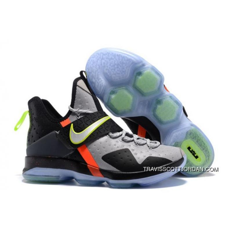 sale retailer 5051a 496c6 Nike Lebron 14 Out Of Nowhere Black-Wolf Grey/Volt-Bright Crimson Free  Shipping