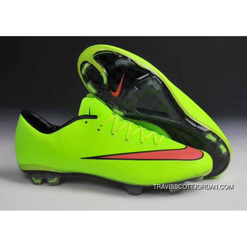 brand new 57743 e9c25 Nike Mercurial Vapor X Fg Soccer Boots Green Pink Black For Sale ...