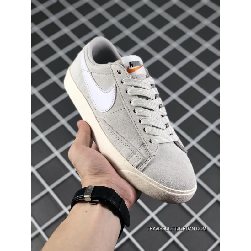 Nike SB Blazer Zoom Low SD Womens Skateboarding Shoe White Light Grey For  Sale ... 450bea12b
