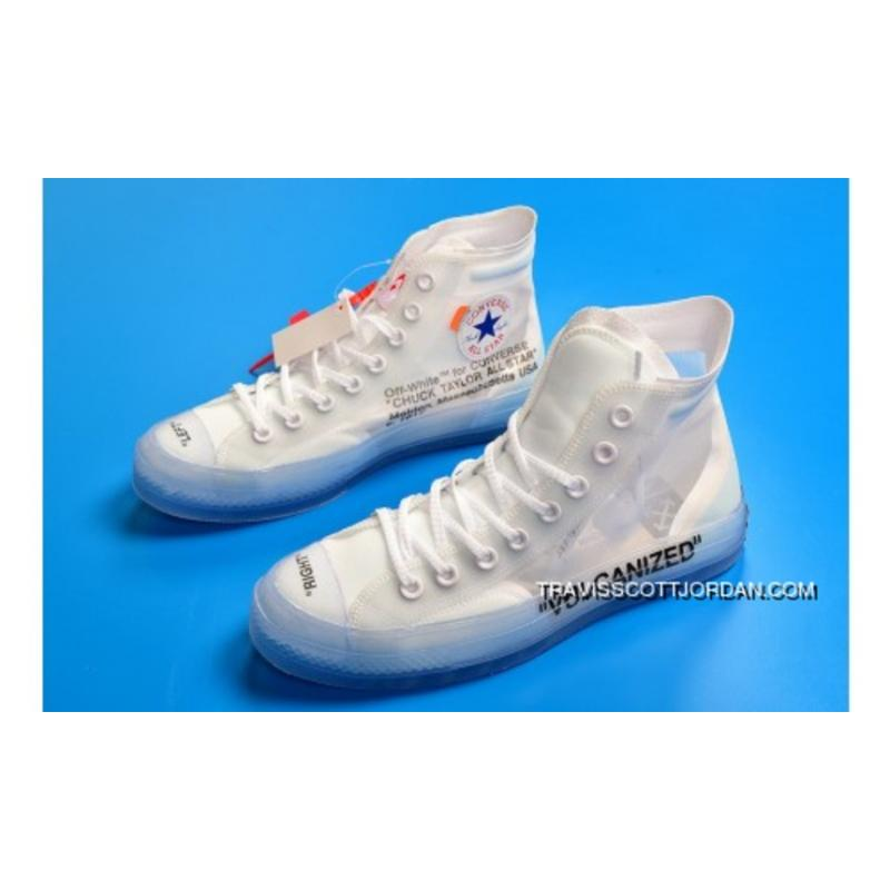 94084e3606a34d Off-White X Converse Chuck Taylor All Star 1970S White Latest ...