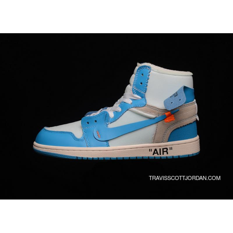 new arrival b9f72 54f72 Off-White X Air Jordan 1 Retro High Nike AJ1 OW UNC AQ0818-148 ...
