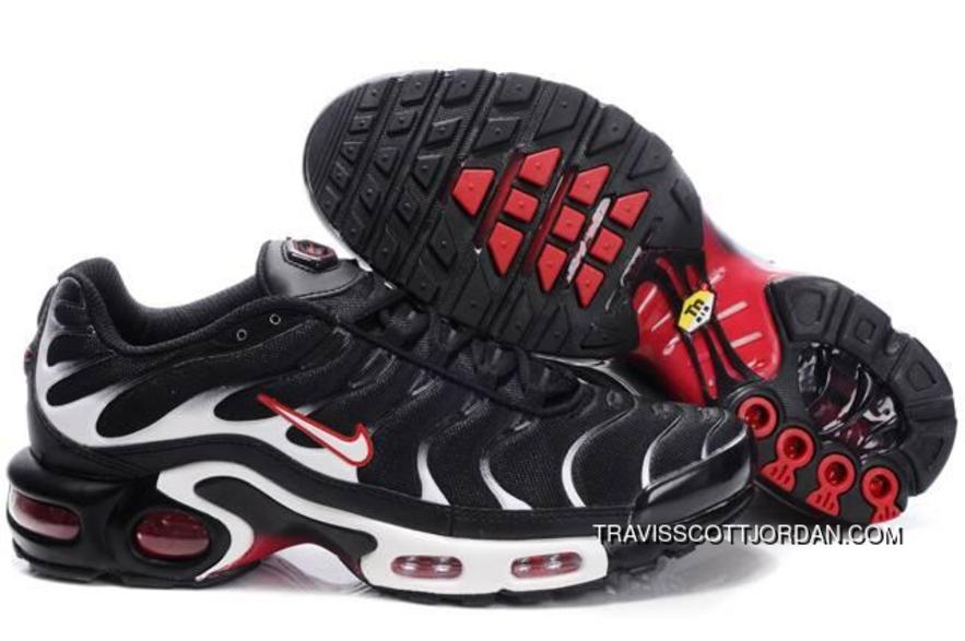 Nike Air Max Tn I Mens Shoes Black Red White Outlet